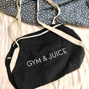 ⚡️ Gym & Juice Fitness Duffel